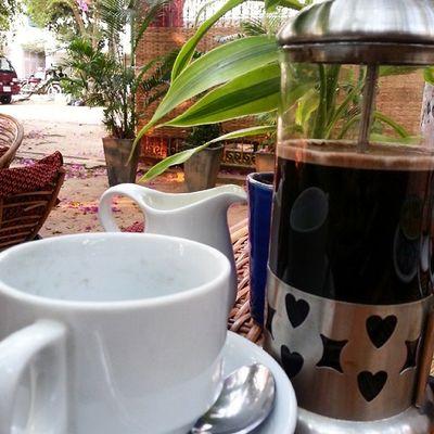 Coffee is Love. Coffeeaddict KhmerLife Cambodia Siemreap Wanderkat