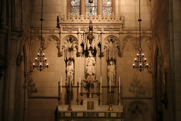 Trinity Church Architecture Built Structure Indoors  Travel Destinations Place Of Worship Religion Building The Past Belief Spirituality Art And Craft Architectural Column Ornate Trinity Church Trinity Church, Manhattan, NY Trinity Church Wall St