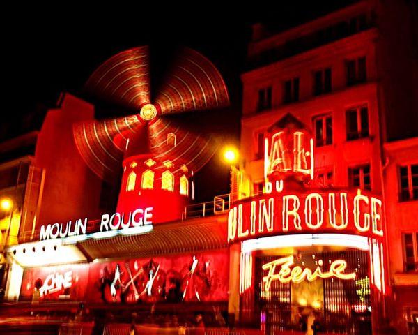 Parispics Paris Paris ❤ Paris, France  Moulin Rouge Moulinrouge Cabaret Spectacle Red