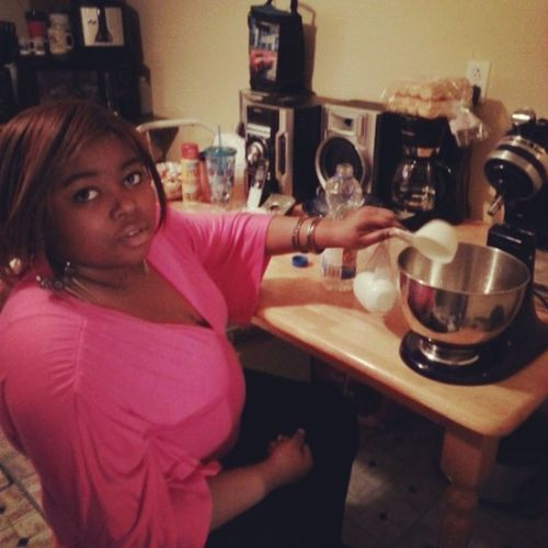 Me cooking on Easter Sunday