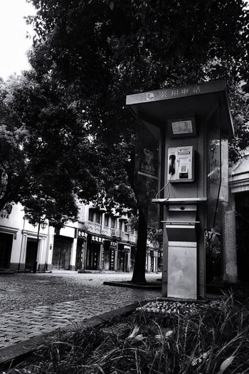 public pay phones Pho Outdoors Stree Black&White The City Light Welcome To Black Neighborhood Map