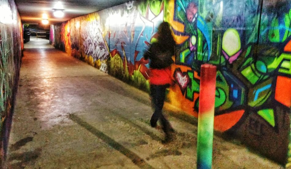 Neon Nights Nightphotography Graffiti Art Downtown Toronto Underpass LGg3photography LGG3