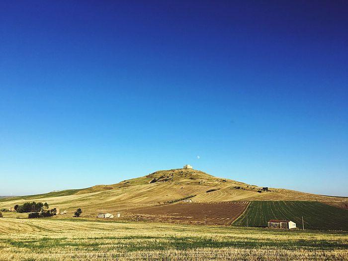 Italy Scenics Basilicata Countryside Landscape
