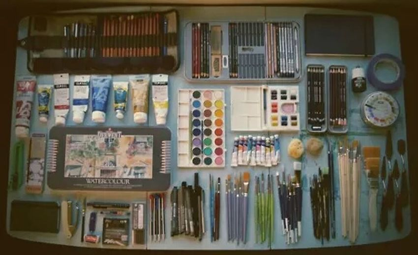 Everyday Education Painting Stuff Artsy Photography Painting Brushes Paints