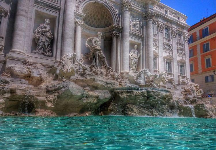 Trevi Fountain Rome Italy Roma EternalCity Rom Italien Buongiornoroma