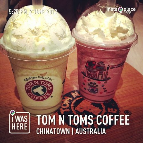 InstaPlace Instaplaceapp Instagood Photooftheday instamood picoftheday instadaily photo instacool instapic picture pic @instaplacemobi place earth world australia AU chinatown tomntomscoffee food foodporn restaurant shopping coffee street day drink greentea