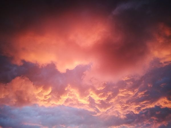 """""""One blue to two pink"""" Dramatic Sky Abstract Cloud - Sky Backgrounds Sunset Weather No People Nature Red Outdoors Sky Sky Only Pink Color Blue Scenics Beauty In Nature Storm Cloud Day Space Thunderstorm"""