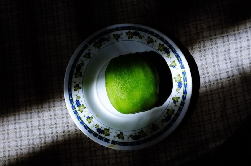 Dessert Close-up Day Directly Above Food Food And Drink Freshness Fruit Green Color Healthy Eating High Angle View Indoors  Kiwi Kiwi - Fruit No People Plate Still Life Table