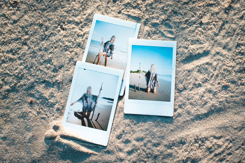 Day Female Model Figurine  High Angle View Human Representation Instax Mini Men Nature One Person Outdoors People Polaroid Real People Sand The Portraitist - 2017 EyeEm Awards Vacations BYOPaper!