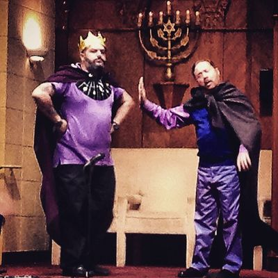 King Ahaseurus and Haman... Purim Purimsuperhero Miamigaymenschorus Chorus Childrensbooks Childrensmusicals Show Showchoir