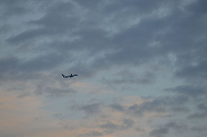 Airplane Cloud - Sky Flying Outdoors Sky Transportation