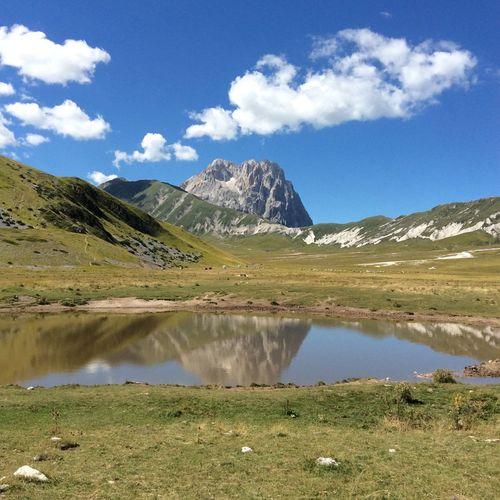 Campo Imperatore L'Aquila Abruzzo - Italy Nature Photography Lago Pietranzoni Lake Gran Sasso D'Italia Corno Grande