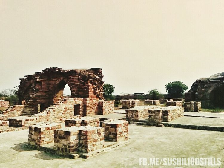 Ruined Building History Ancient Architecture No People India Architecture Fatehpur Sikri