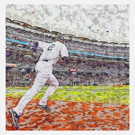 RE2PECT Yankees Paint Baseball
