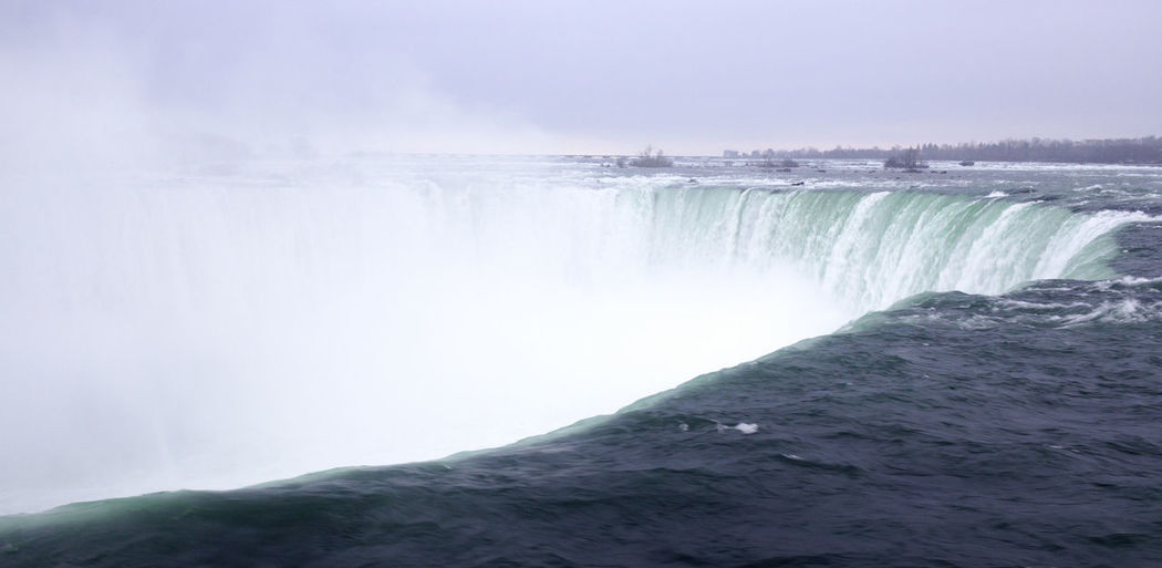 Awe Beauty In Nature Day Famous Places Fog Freshness Long Exposure Nature Niagara Falls No People Outdoors Power In Nature Scenics Touristic Destination Water Waterfall