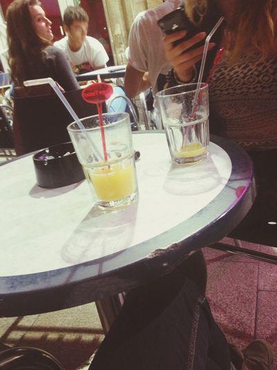 Posey Enjoying Life Drinking Soirée Perfect