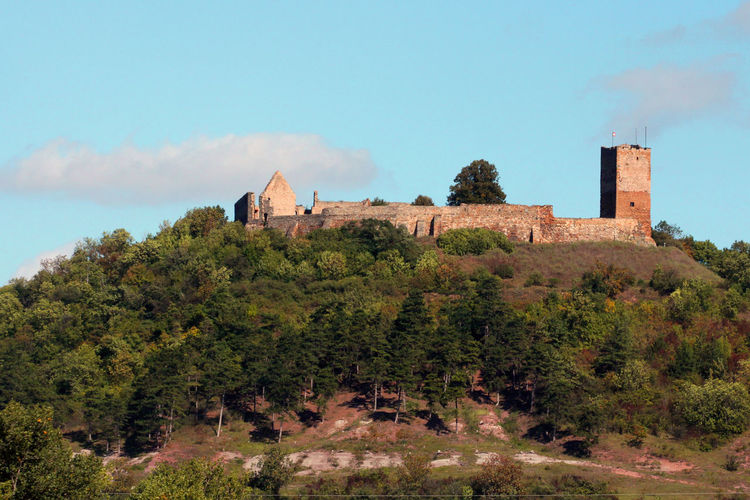 Burg Gleichen aus dem Burgentrio Drei Gleichen Arnstadt Burg Burg Gleichen Drei Gleichen Mittelalter Ruine Thuringia Thüringer Becken Thüringer Wald Wandersleben