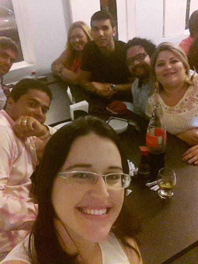 Com familia da Fé.