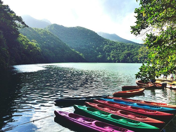 Bicol, Philippines Bulusan Lake Eyeem Philippines Travel Destinations Nature Beauty In Nature Abrileverywhere One Young Woman Only Landscape Travel Philippines Water Fujifilmph Tranquility Canoe And Water Kayakingadventures Kayak Sailing Color