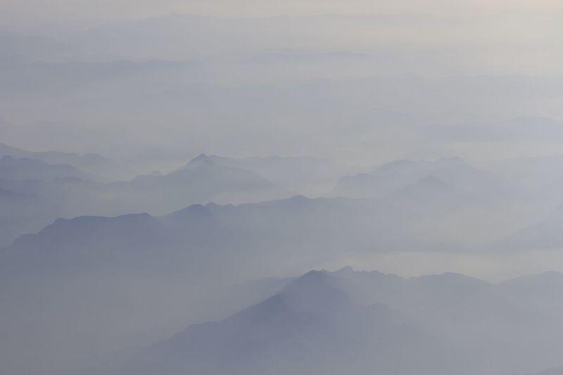 Aerial Shot Mountains Foggy Light And Shadow EyeEm Nature Lover Creative Shots The Great Outdoors - 2015 EyeEm Awards The Traveler - 2015 EyeEm Awards