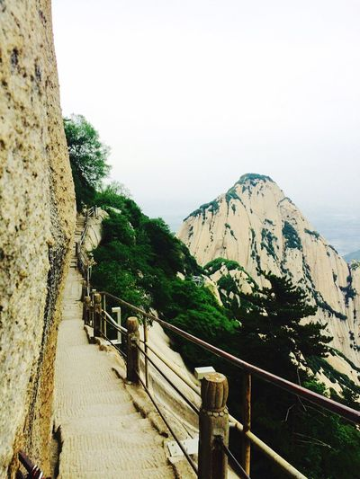 Beauty In Nature Mountain The Way Forward Landscape Nature Scenics Huashan Mountain Shaanxi The Great Outdoors - 2017 EyeEm Awards Travel Destinations China