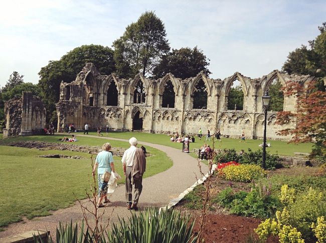 """""""growing old with u"""" York Trip Exploring Summer Adventures Yorkshire Museum St.mary's Lodge"""