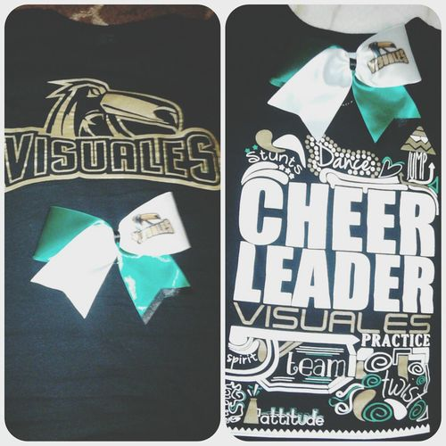 Cheerleading♡ Cheerleader Practice Cheerbow