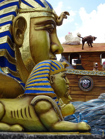 ezefer Architecture Art Art And Craft Arts Culture And Entertainment ArtWork Carnaval Carnaval2017sp Carnival Creativity Day Human Representation Mammal No People Outdoors Sculpture Sky Statue