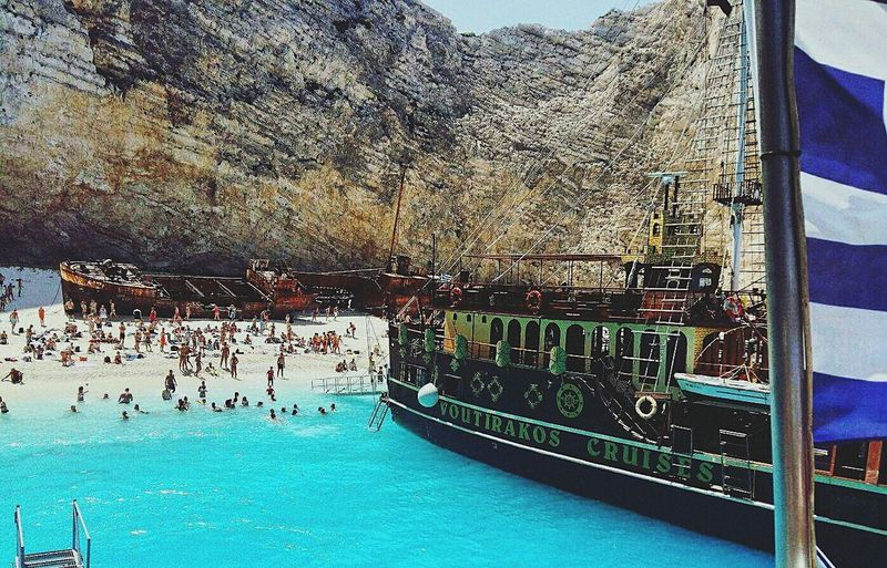 Greece Water Day Vacations Boat Trip Zakynthos