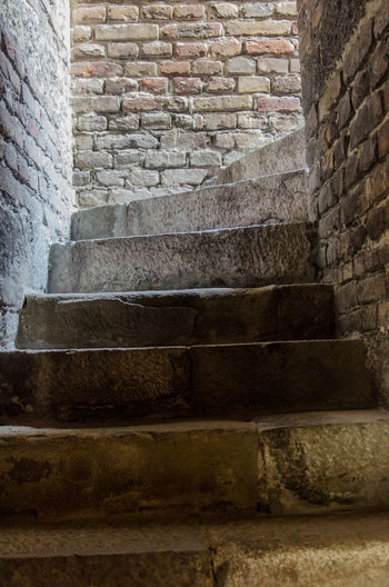 Architecture Basement Brick Wall Building Exterior Built Structure Close-up Day Hidden Entrance Hidden Places EyeEm Best Shots Indoors  Magic Way Outdoors Roof Staircase Stairs Stairway To Heaven Stairways Steps Steps And Staircases Down Under Up Stairs