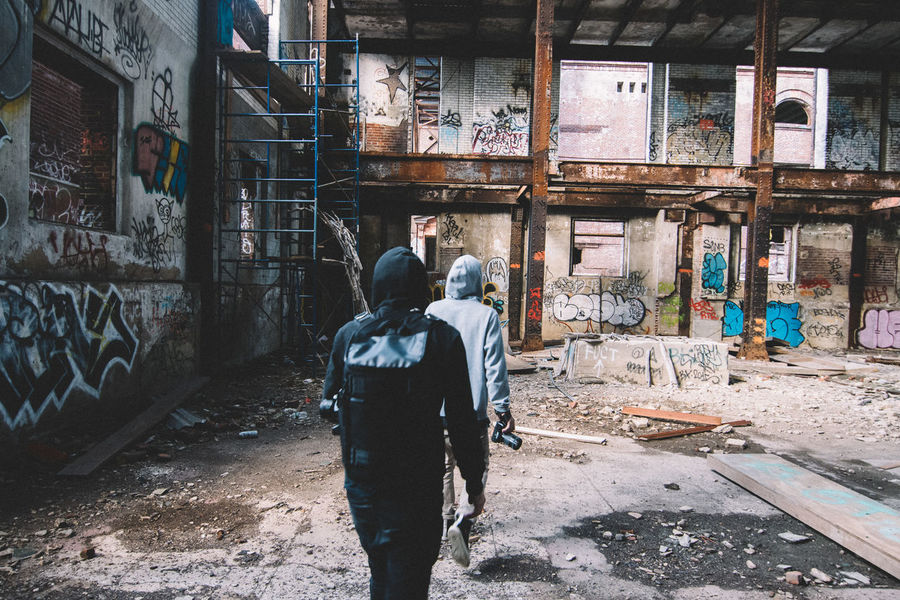 THESE Are My Friends Abandoned Places Urban Geometry VSCO Candid Perspective New York On The Move Abandoned
