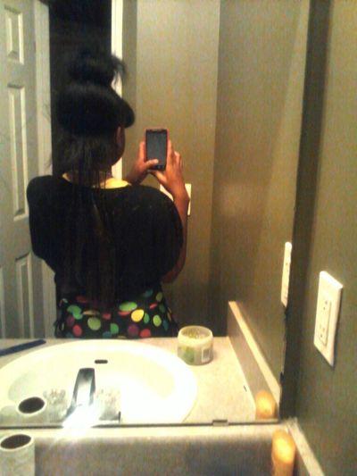 brandin my hair