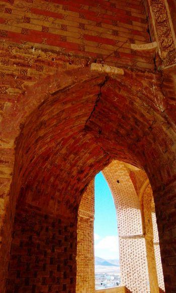 Iranian architecture / Soltanieh Dome Iran Zanjan Soltanieh_dome Iranian Architecture Sunlight Clear Sky Sky History Architecture
