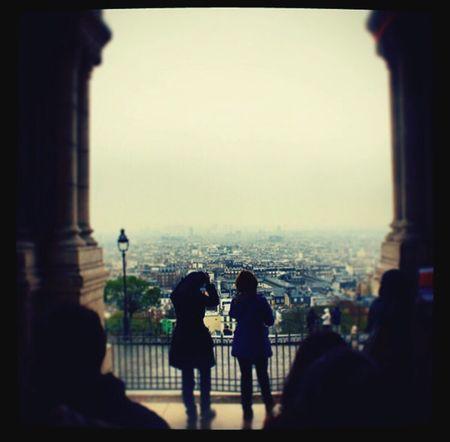Paris Beauty Place Du Tertre Beautiful Day France