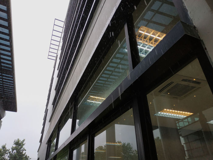 Architecture Building Building Exterior Built Structure City Day Glass - Material Illuminated Lighting Equipment Low Angle View Luxury Modern Nature No People Office Office Building Exterior Outdoors Reflection Sky Skyscraper Transparent Window