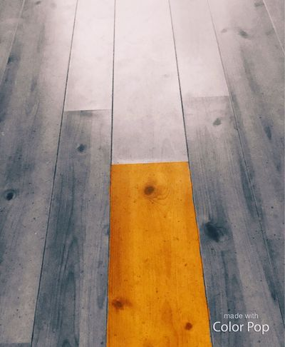 Shoutout to Atta-Girl Floorboards No People High Angle View Backgrounds Yellow