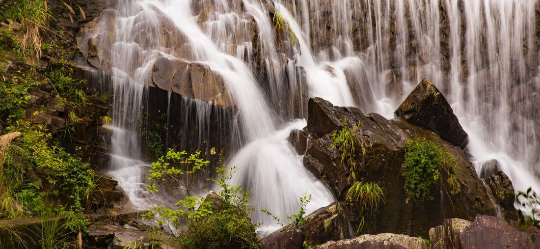 山口,浙江 Long Exposure Waterfall Nature Beauty In Nature Be. Ready.
