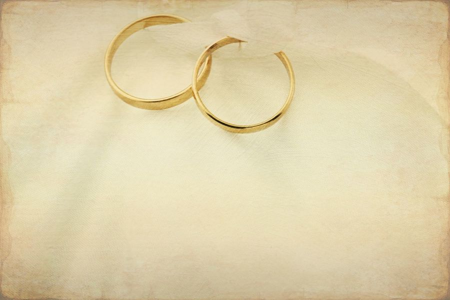 Wedding rings with old paper texture overlay Gold Beige Brown Textured  Paper Wedding Invitation Wedding Background Wedding Paper Rings Nobody Copy Space Texture Paper Western Jewelry No People Gold Wedding Ring Gold Colored Still Life Circle High Angle View Ring Love Close-up Two Objects Life Events Backgrounds
