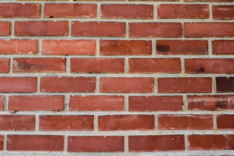 Red Brick Wall Brick Backgrounds Wall Architecture Built Structure Wall - Building Feature Full Frame Pattern No People Textured  Day Outdoors Building Exterior Repetition Brown Close-up Design Shape