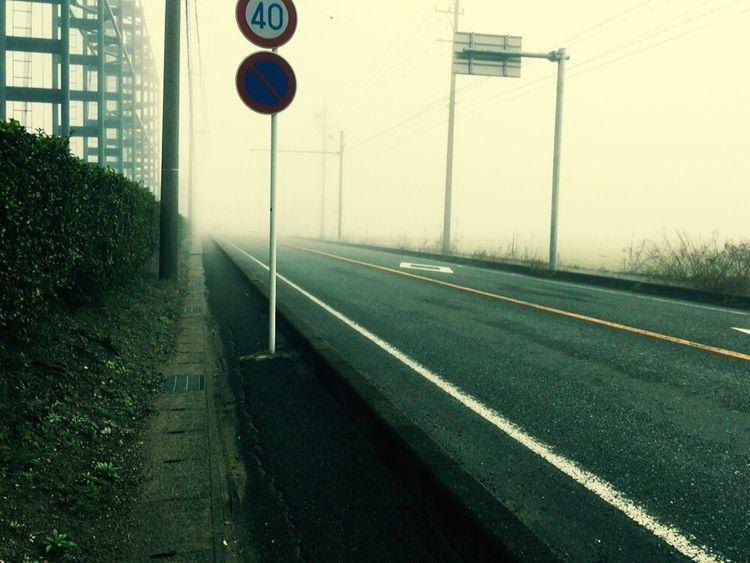 霧 朝もや