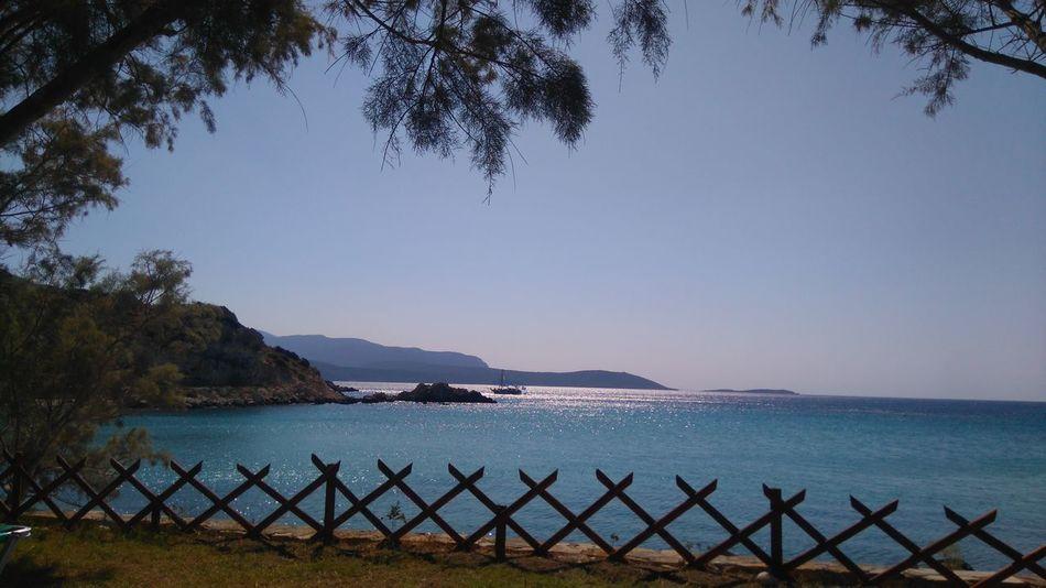 Glicorisa Beach Hotel Pythagoras Of Samos Seascape Enjoying Life Pureshot Pure Photography Oceanview Seaview Beach Idyllic Nature