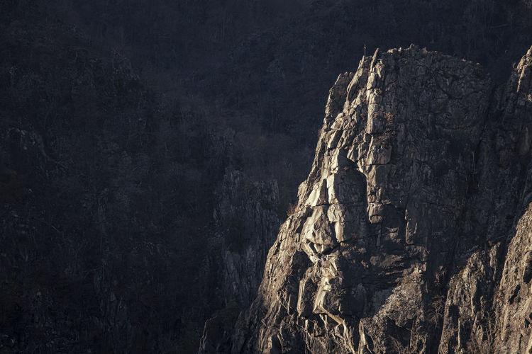 Panoramic view of tree against mountain range