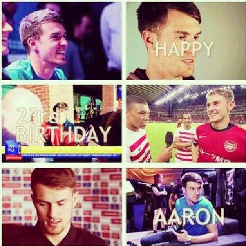 Once again HappyBirthdayAaron , a year older a year better! :) Vcc HBDRamseyFromIndonesia