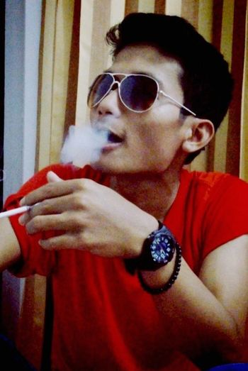 just shot Smoke