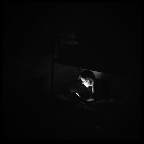Darkness And Light Dark Blackandwhite Light HostelLife London Brixton while the rest of us slept.