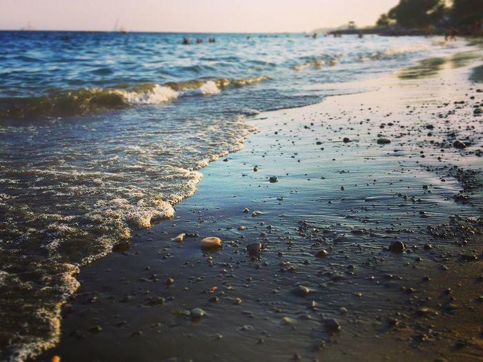 Mediterranean Sea Beach Sea Horizon Over Water Tranquil Scene Nature Sand Beauty In Nature Seascape Non-urban Scene Water Sunset Nature_collection