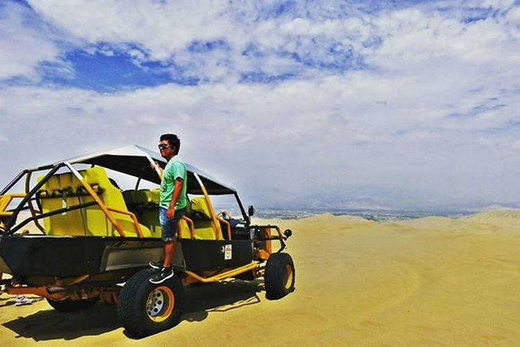 En medio del desierto. Dunas Tubulares Huacachina Fullday Ica Igers Igersperu
