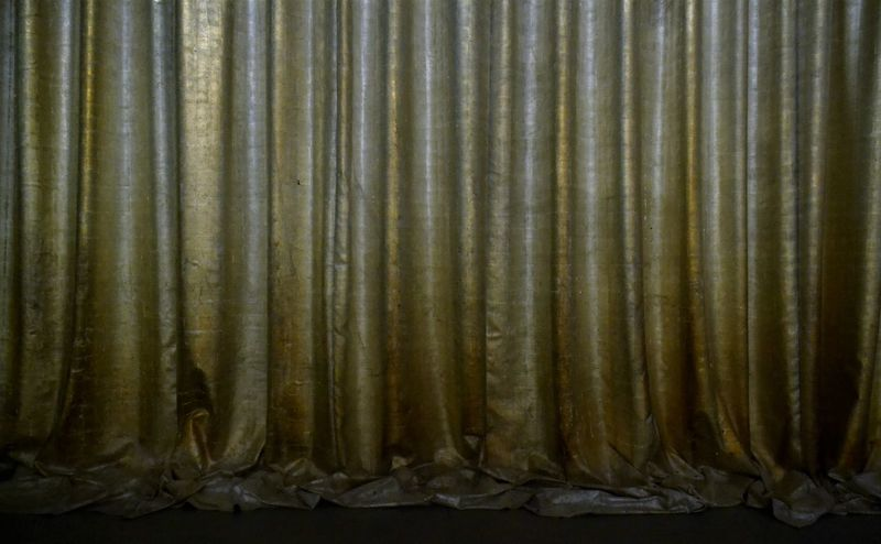 Behind The Curtain Colours Golden Close-up Corrugated Iron Curtain Day Food Freshness Indoors  Mystery Mystery Photo No People