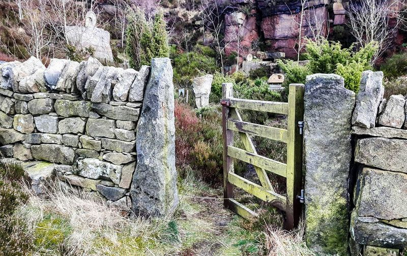 Gate Gateway Countryside Countrylife Garden Yorkshire Mytholmroyd