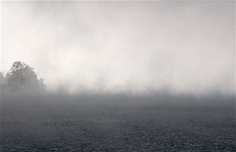 Foggy Cold Attersee